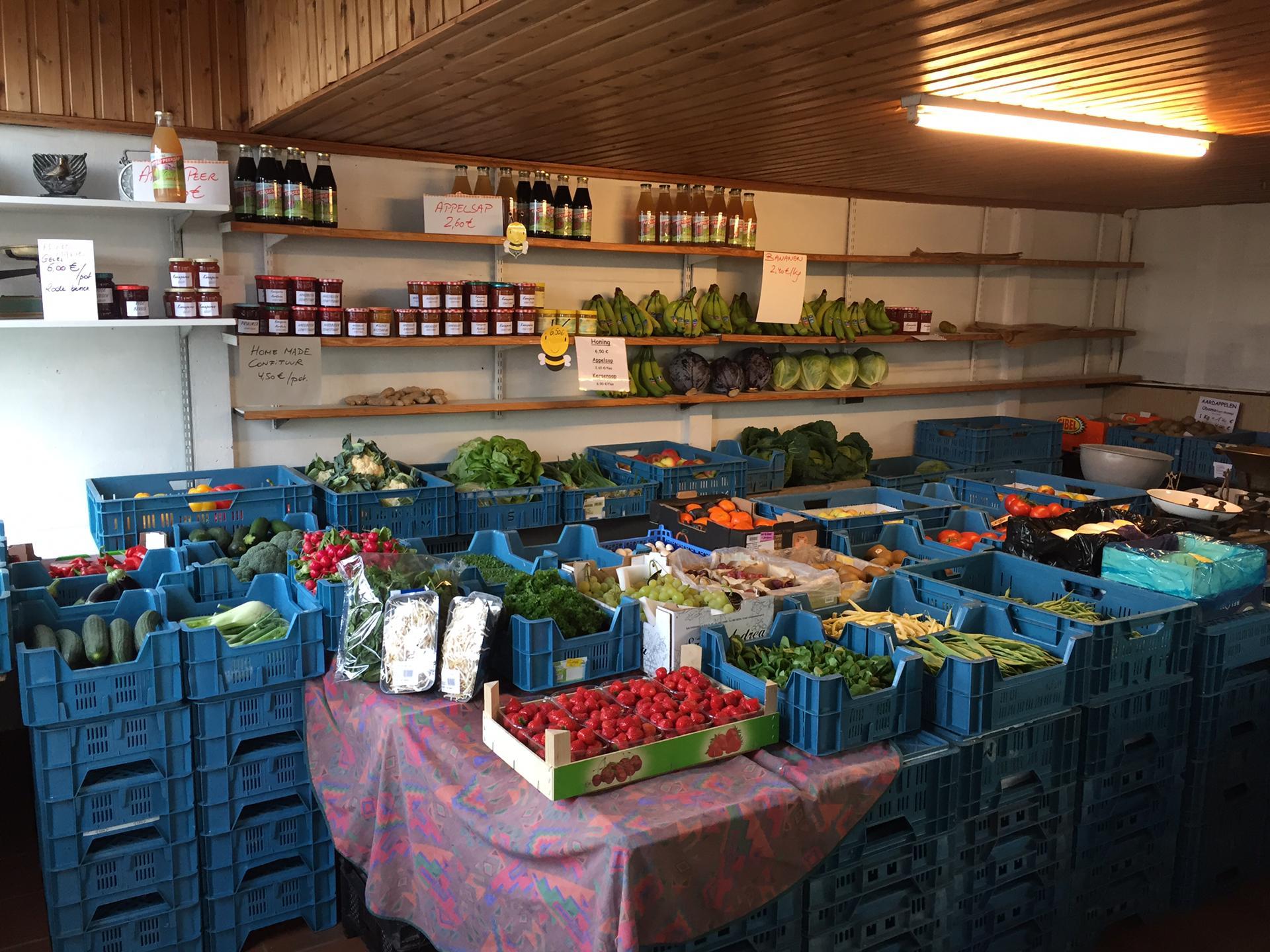 Bestelformulier Groenten en Fruit
